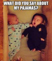 Funny cute baby pic
