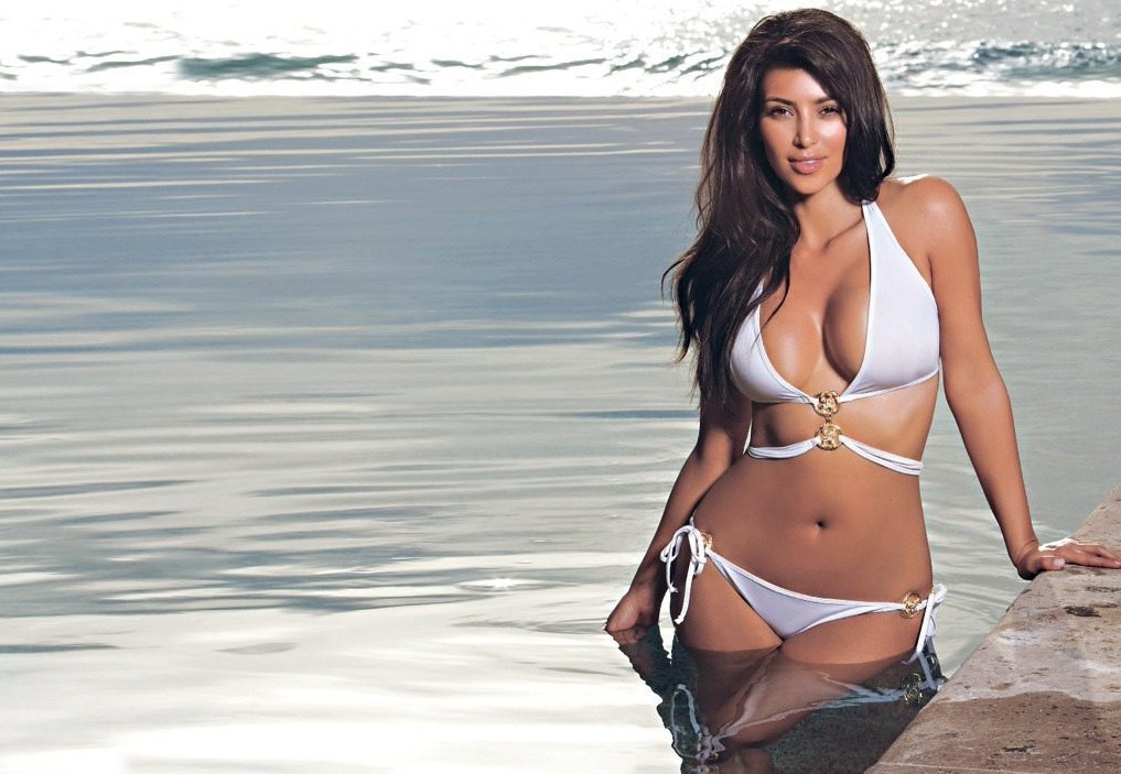 All New Exclusive Kim Kardashian Hot Images  U0026 Wallpapers