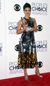 priyanka with People choice award