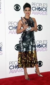 priyanka with People choice award