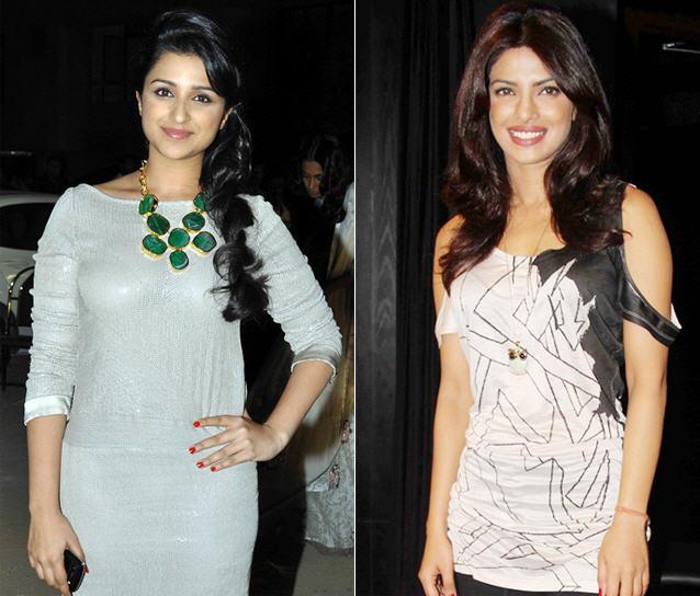 Parineeti and Priyanka Chopra at Tv reality Show