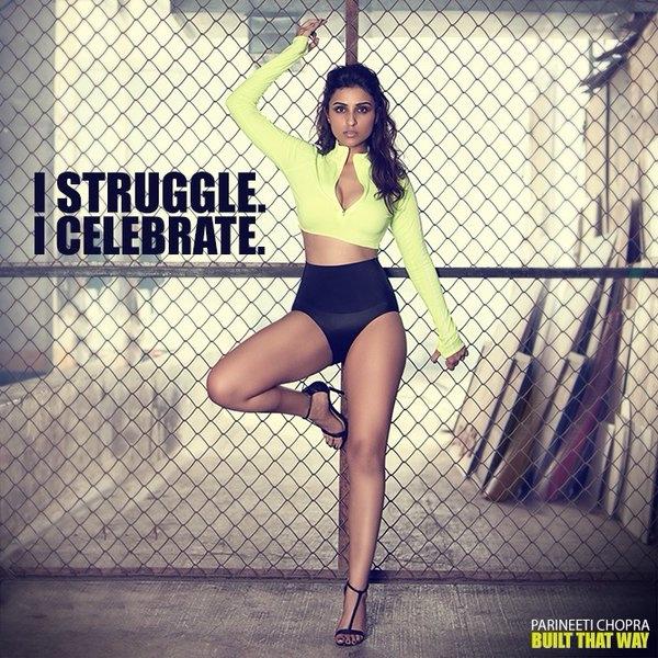 Fitness Freak Parineeti Chopra Twitter Pics