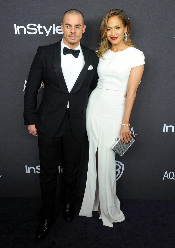 Gorgeous Jennifer Lopez and Casper Smart