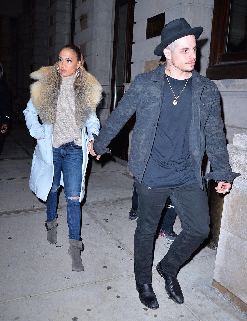 Jennifer Lopez and Casper Smart Photo Stills