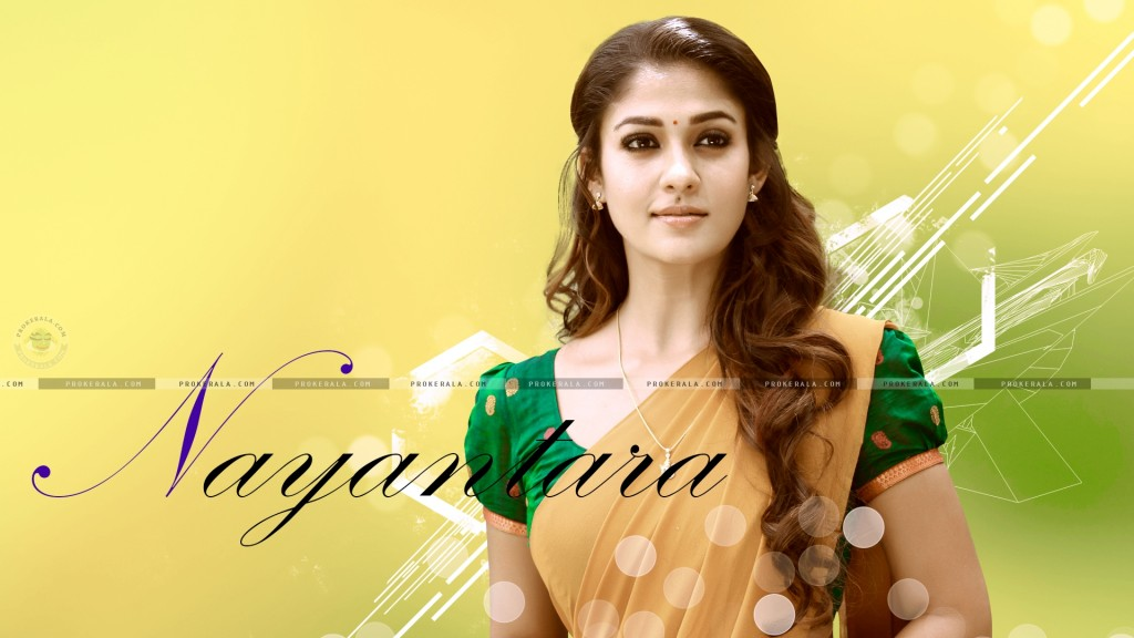 Beautiful Nayanthara Desktop Wallpaper