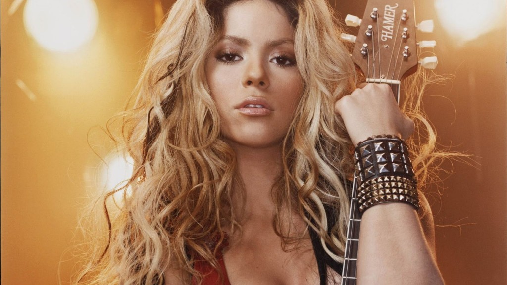 High Resolution Shakira Wallpaper