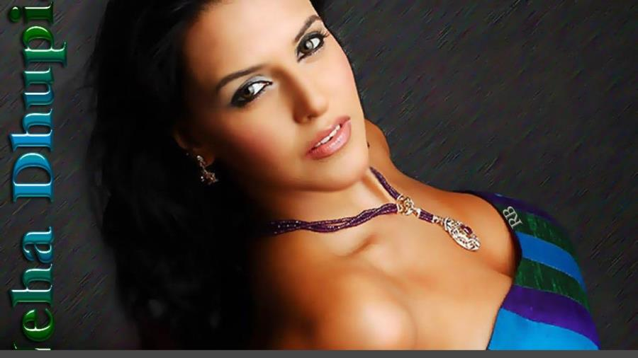 Hot & Beautiful Neha Dhupia Latest Wallpaper