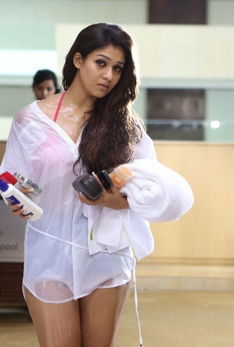 nayanthara in swim suit