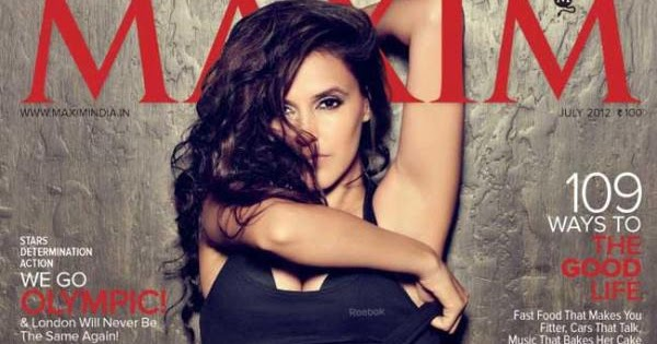 Neha Dhupia Photoshoot For Maxim