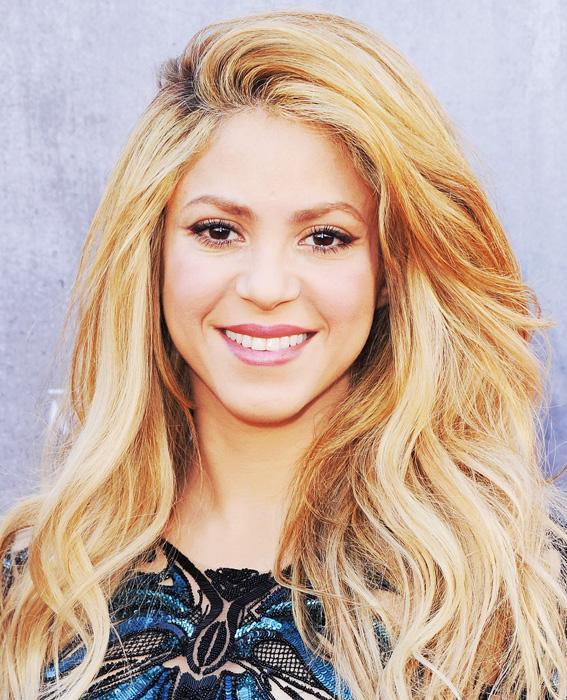 Shakira Celebrates Her Birthday