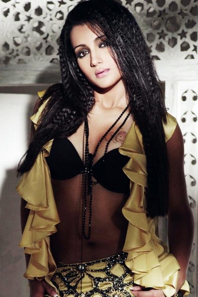 Stunning looks of Trisha in Bikini Image