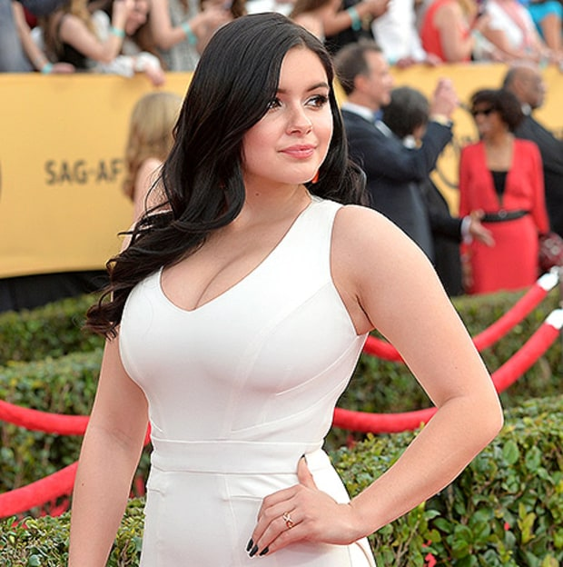 Ariel Winter on Breast Reduction