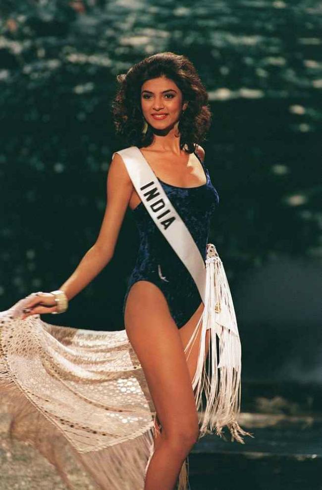 beauty queen Sushmita Sen