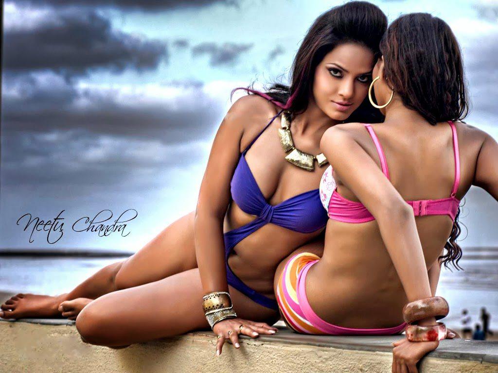 Neetu Chandra Blue Bikini Disha Patani Instagram Profile