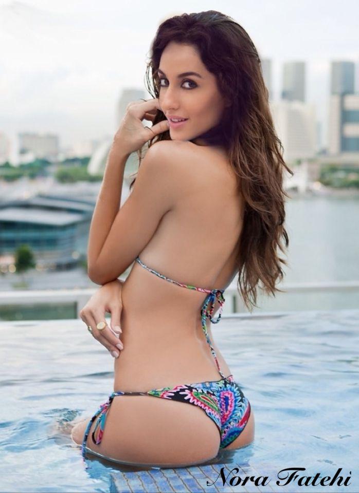 Nora Fatehi Bikini Pics