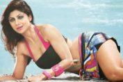 Shilpa Shetty bikini wallpaper