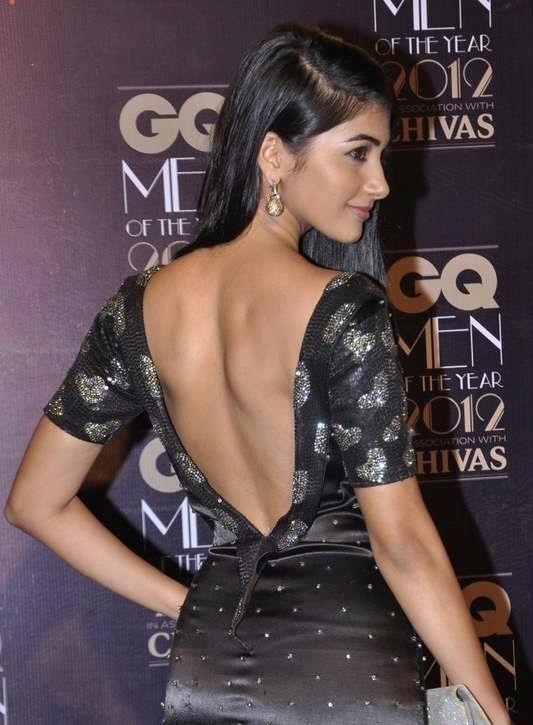 Pooja Hegde backless dress