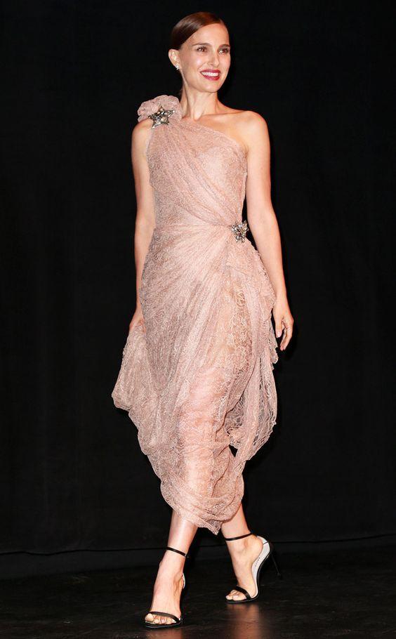 Natalie Portman hot dress