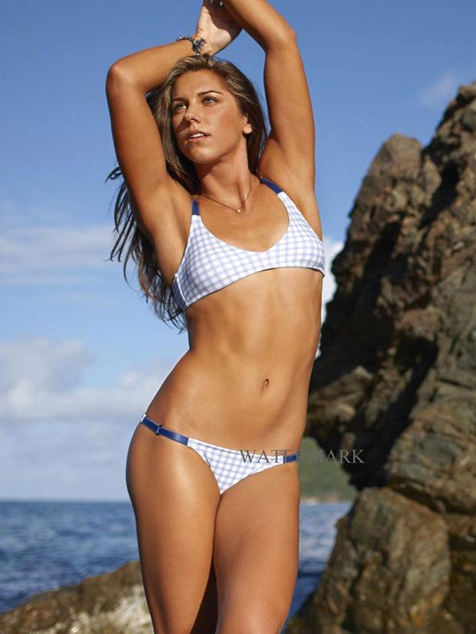 Alex morgan bikini photoshoot behind the scenes - 2 part 10