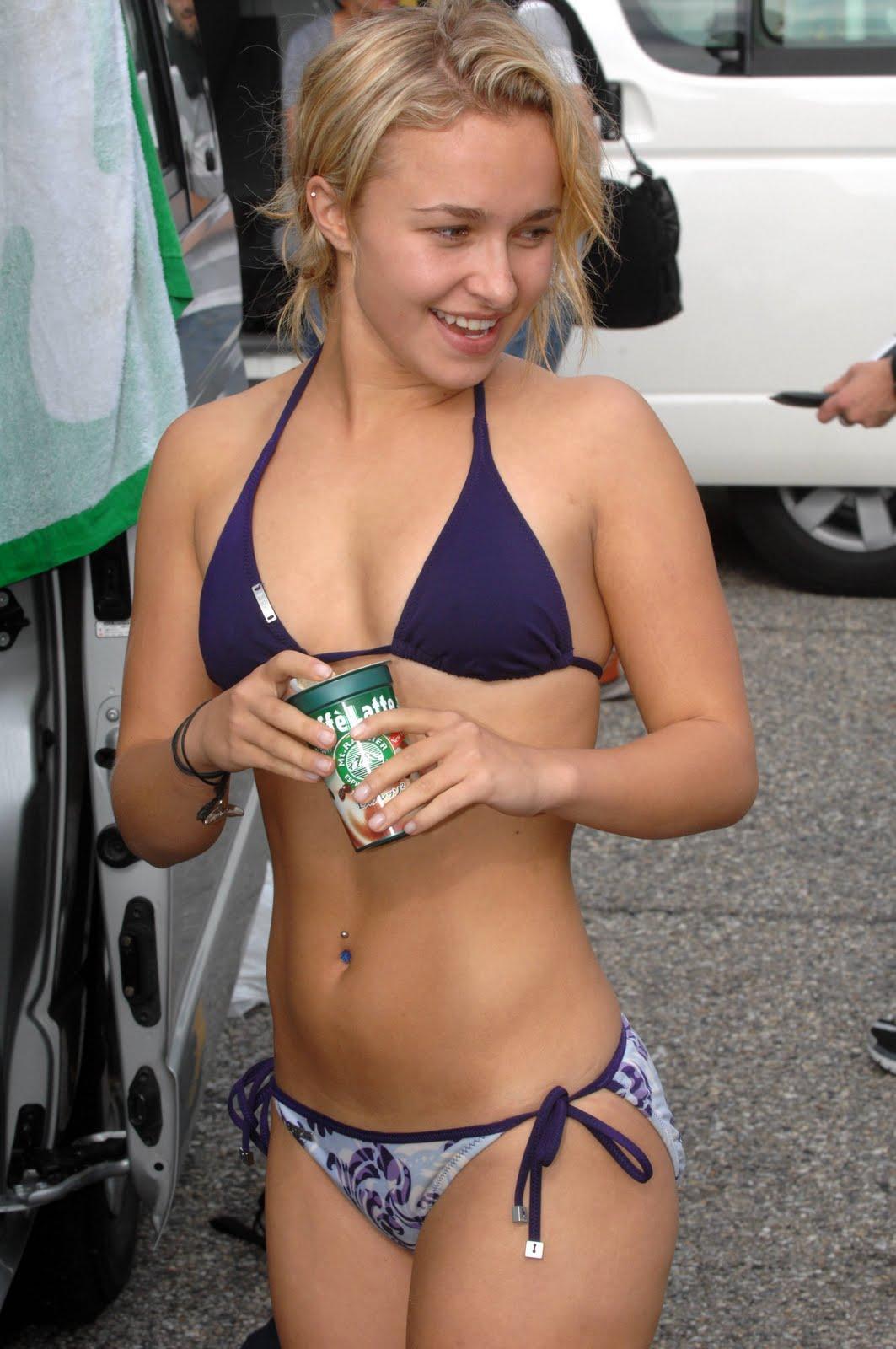 Hayden Panettiere hot Bikini