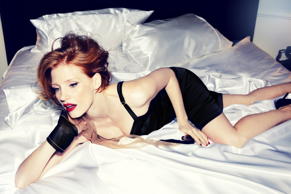 Jessica Chastain hot wallpapers