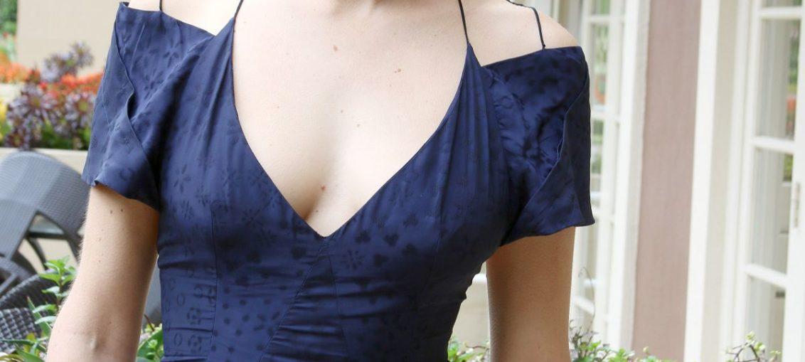 Shailene Woodley backless
