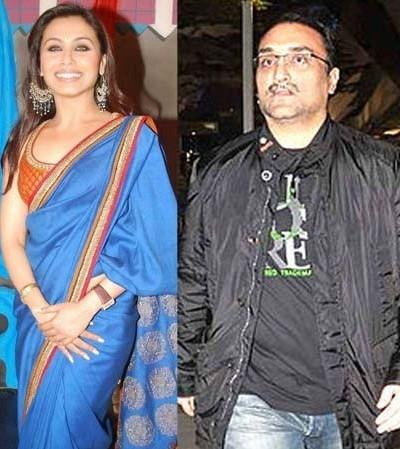 Rani Mukerji and Aditya Chopra Wedding