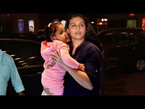 Rani Mukerji her Daughter Adira